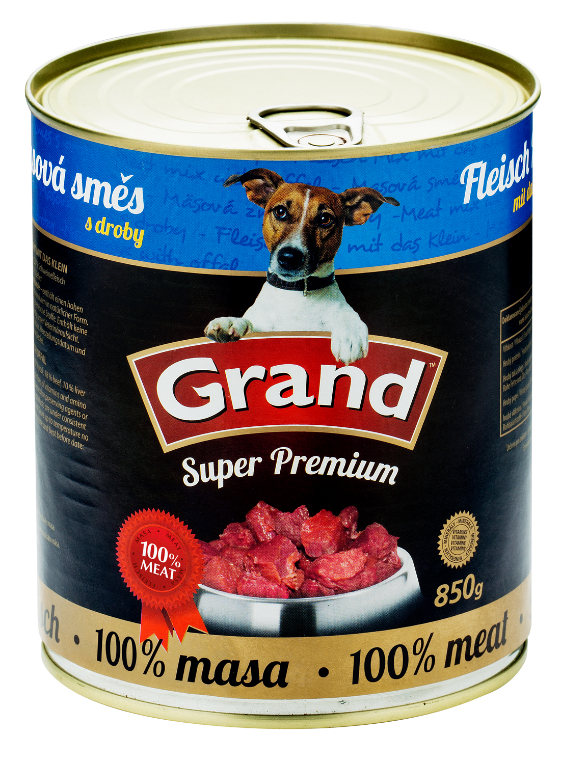 GRAND SuperPremium Masová směs - DOG 850g