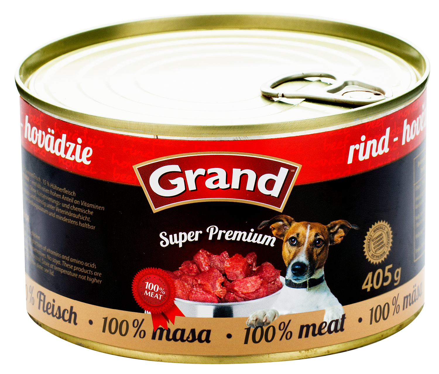 GRAND SuperPremium Hovězí - DOG 405g