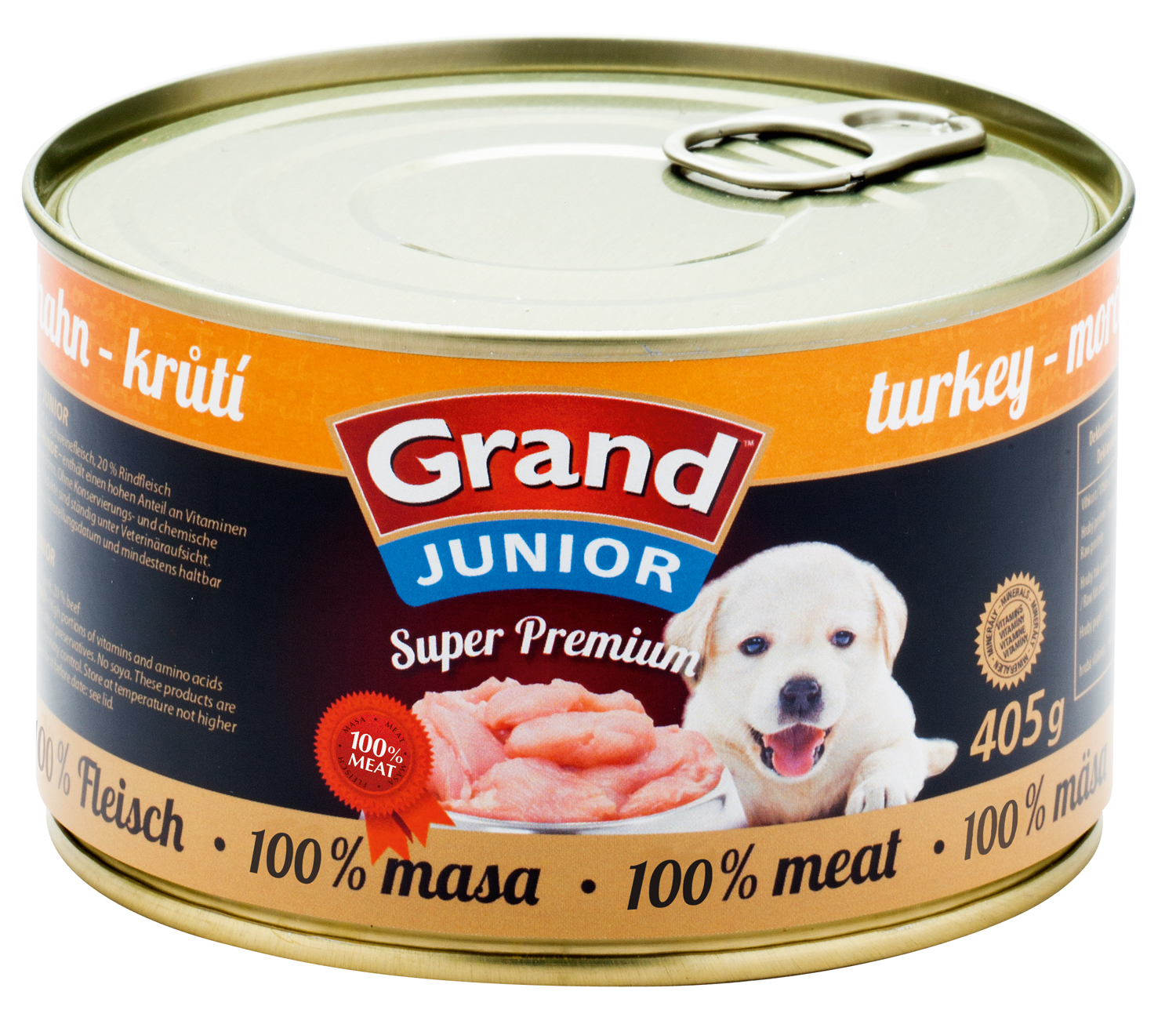 GRAND SuperPremium Krůtí - JUNIOR 405g