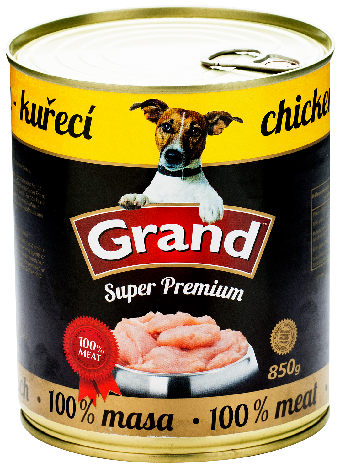 GRAND SuperPremium Kuřecí - DOG 850g